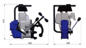 Схема рельсосверлильного станка BDS RailMAB 960