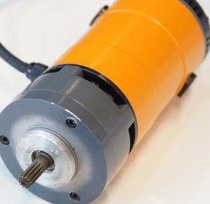Электромотор с редуктором разьемного трубореза SD