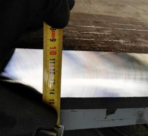 Фаска 45мм. полученная на станке CHP-60G