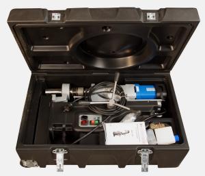 Магнитный станок BDS MAB 1300 в кейсе для хранения и транспортировки