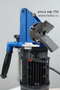Шкала настройки глубины фаски на МФ 750