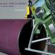 Снятие фаски на трубе фаскоснимателем CHP 12 Cevisa