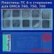 Сменные пластины для кромкореза OMCA