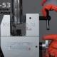 Торцевание стальной трубы станком ISC-53