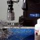 Корончатое сверление магнитным станком MAB 850